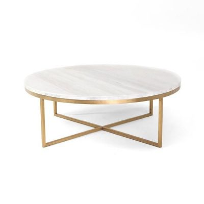 Tilla Round Marble Coffee Table