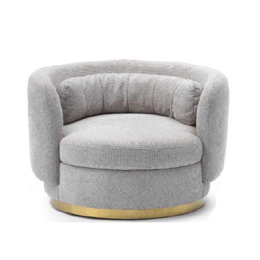 Scottie Swivel Armchair