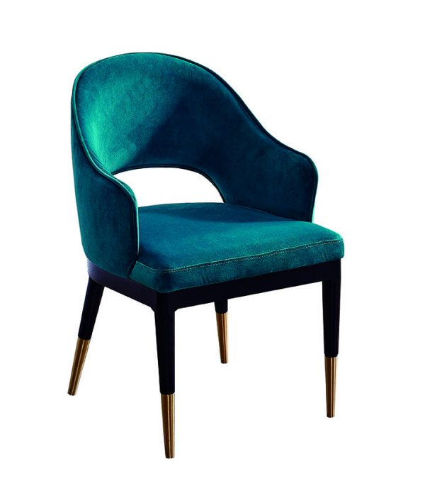Tyler Luxe Dining Chair (With Armrest)