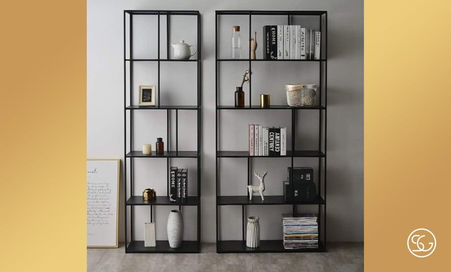 Tall standing bookshelf