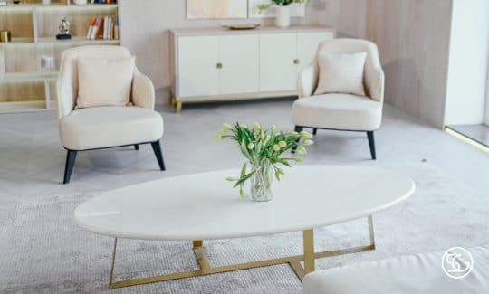 Marble console table in Singapore