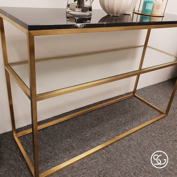 High quality marble console table furniture in Singapore